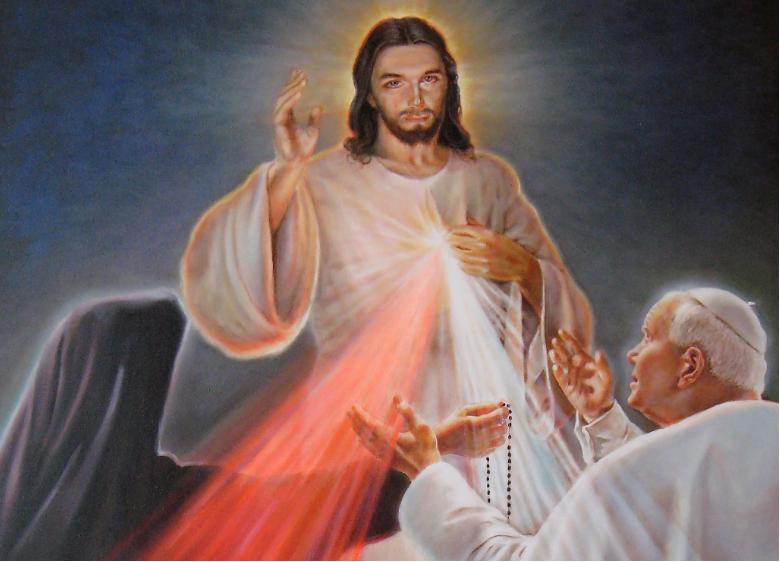 """""""DOMENICA IN ALBIS"""", Festa della Divina Misericordia."""