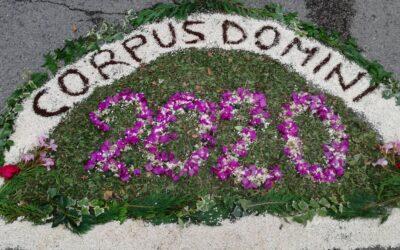 Il Corpus Domini: la festa che ci fà comunità.