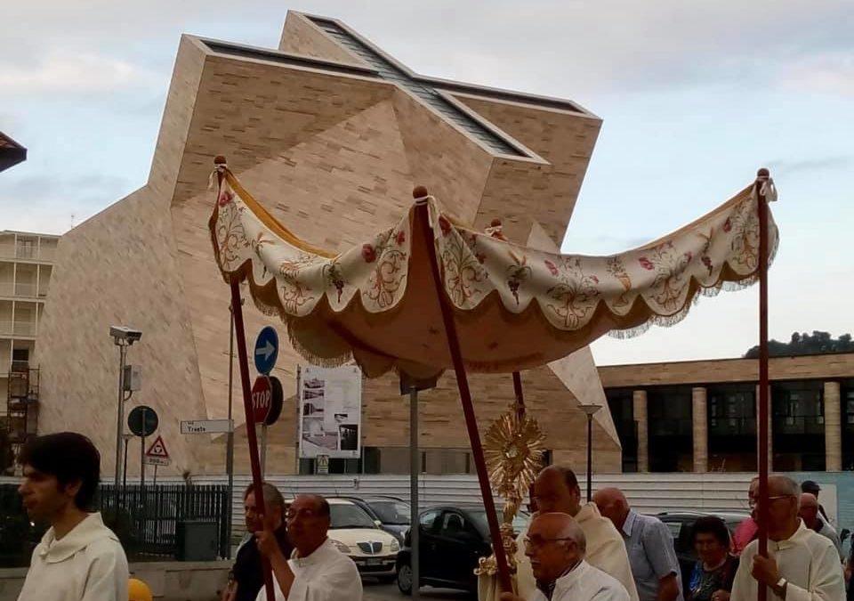 Processione Corpus Domini 2019.