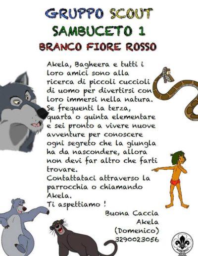 Iscrizione Scout - Branco 2019